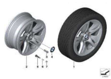 BMW LA wheel Streamline 364 - 18''