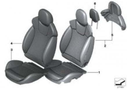 Seat, front, Recaro Sport seat