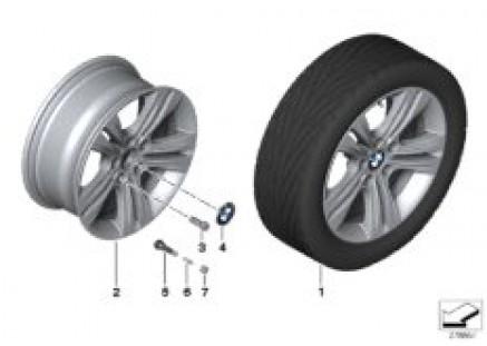 BMW LA wheel Double Spoke 392 - 17''