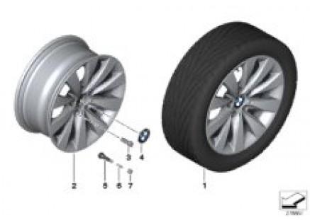 BMW LA wheel V-Spoke 413 - 17''