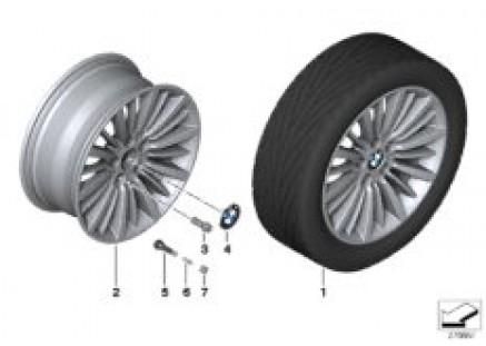 BMW LA wheel Multi-Spoke 416 - 18''