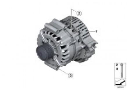 Crankshaft starter generator