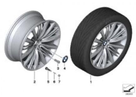 BMW LA wheel, V Spoke 463