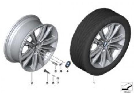 BMW M LA wheel, V Spoke 464