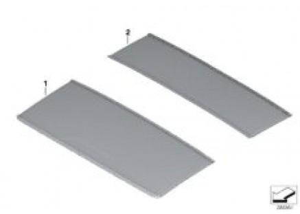 Individual slide/tilt sunroof