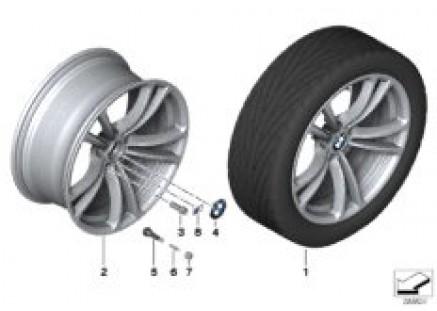 BMW LA wheel M Double Spoke 409