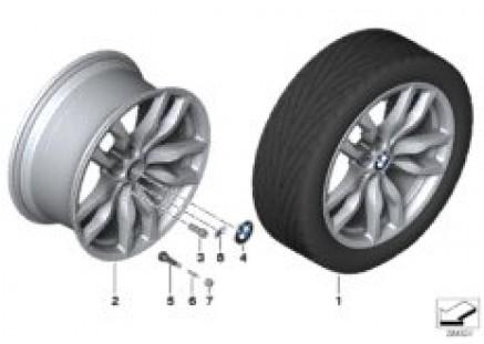 BMW LA wheel M Double Spoke 435
