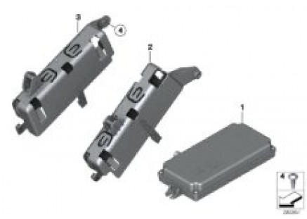 Control module, backup camera