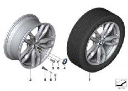 BMW LA wheel M Double Spoke 434 - 20''