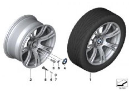 BMW LA wheel M Star Spoke 344 - 19''