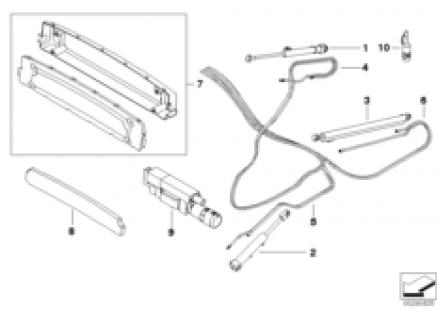 Folding-top, hydraulic