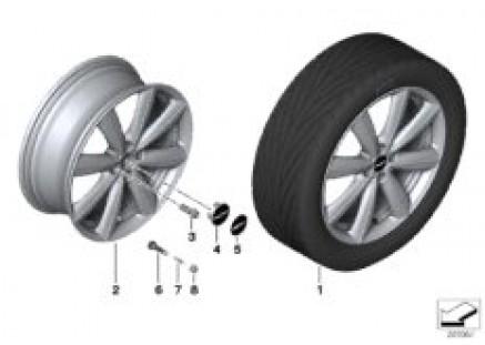 JCW LA wheel V-Spoke R133
