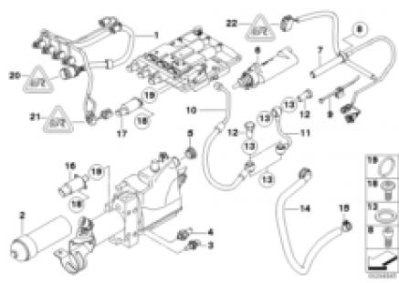 GS7S47BG Hydraulic unit single parts