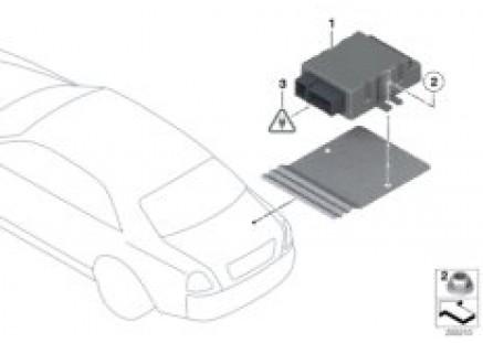 Control unit for fuel pump