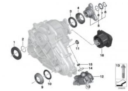 Transfer case single parts ATC 45L