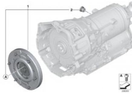 GA8P70H torsional vibration damper