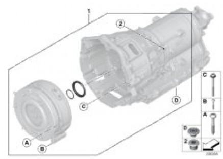 GA8P70H sealing elements, bellhousing