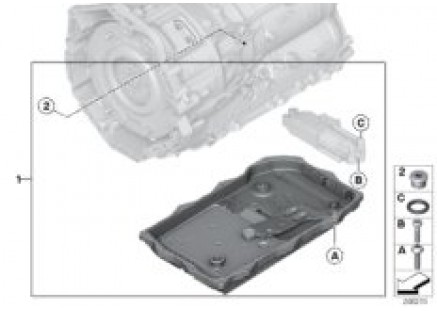 GA8P70H O-ring for oil pump