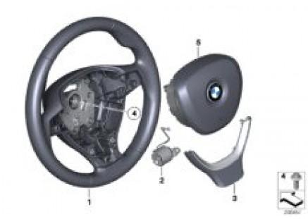 Airbag sports steering wheel multifunct.