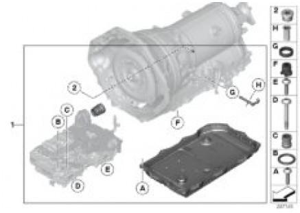 GA8HP45Z shift shaft