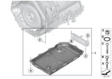 GA8HP45Z O-ring, hydraulic fluid tank