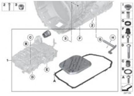 GA8HP90Z Shift shaft