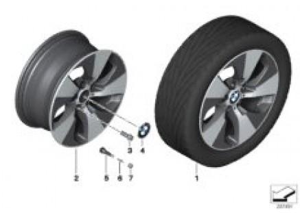 BMW LA wheel Streamline 419 - 18''