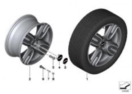 MINI LA wheel GP II 136