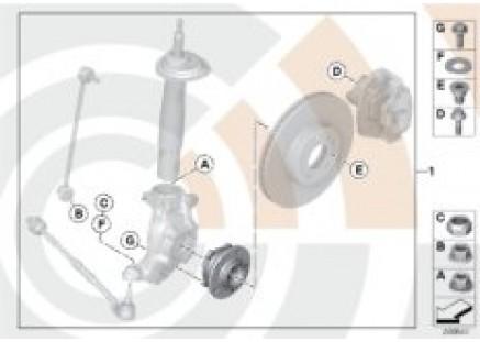 Kit, wheel bearing, front / Value Line