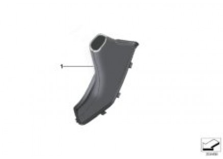 Individual parking brake lever boot