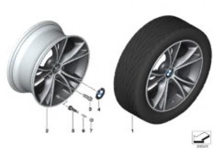 BMW LA wheel, V Spoke 515
