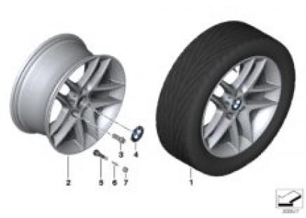 BMW LA wheel Double Spoke 496