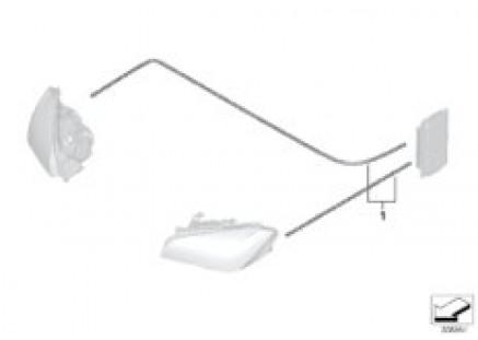 Conversion to headlight LCI