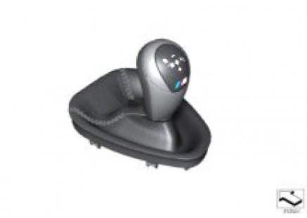 Shift lever cover w/ 2-clutch gbox knob