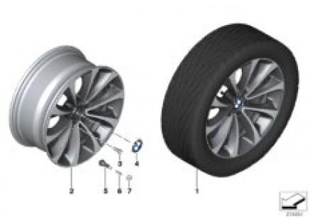 BMW LA wheel Turbine Styling 452 - 18''