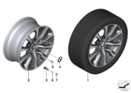 BMW LA wheel Turbine Styling 453 - 19''