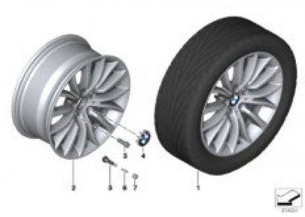 BMW LA wheel Multi-Spoke 454 - 18''