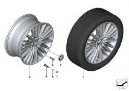 BMW LA wheel Multi-Spoke 455 - 19''