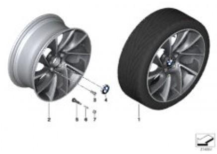 BMW LA wheel Turbine Styling 457 - 20''