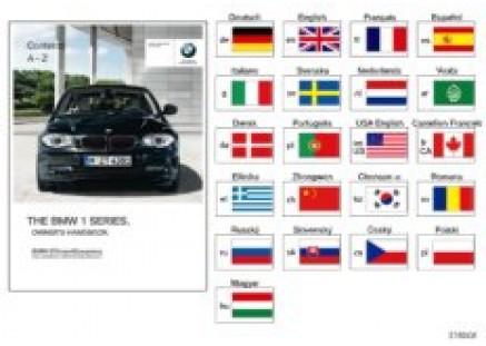 Owner's manual for E81, E87 w/o iDrive