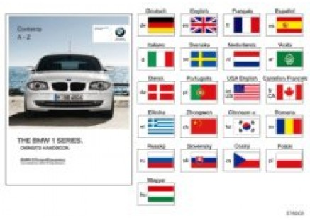 Owner's manual for E81, E87 with iDrive