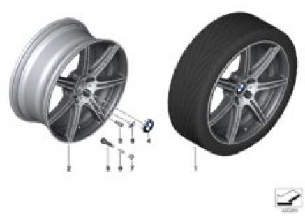 BMW LA wheel M Double Spoke 601 - 20''