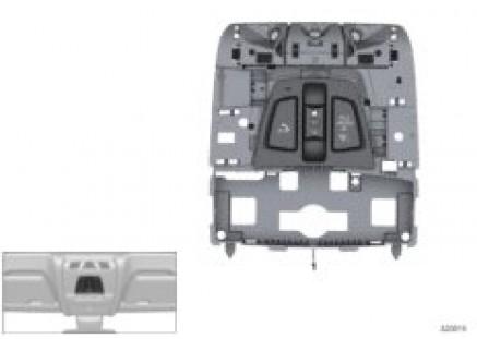 Headliner control module