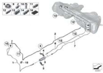 Fuel line / fuel filter