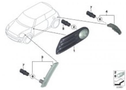 Turn signal/side marker light