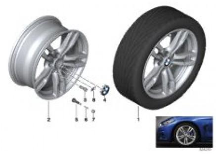BMW LA wheel M Double Spoke 441 - 18''
