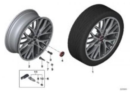 MINI LA wheel Cross Spoke 506