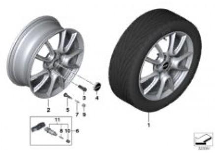 MINI LA wheel Double Spoke 534