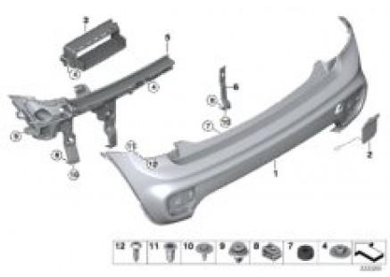 Aerokit, trim panel, rear