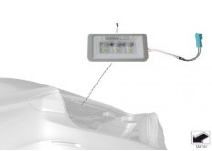 BMW LED luggage compartment lamp